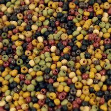 2mm Tiny Wood Beads, 50 grams, approx 8000 beads, beading, Macrame WM1