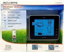 Wireless Weather Station Large Forecast Temperature Clock Indoor Outdoor Sensor