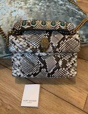 Kurt Geiger Snake Print Embellished Kensington Bag