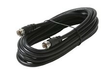 Steren PP-205-010BK 3' RG59/U, 75 Ohm Twist On F-F Coaxial Cable NEW!