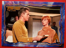 "STAR TREK TOS 50th Anniversary - ""THE CAGE"" - GOLD FOIL Chase Card #69"