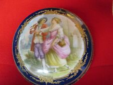 Antique Sevres Bonboniere Hallmarked France Price Reduced