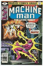 MACHINE MAN #12 Dec 1979 DITKO Cover & Art NM- 9.2 MARVEL 1st App ETHICALS B/O