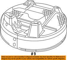 Dodge CHRYSLER OEM 10-18 Journey Floor Rails-Rear-Spare Cover 5178501AC