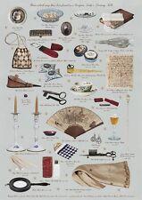 Giftwrap/Poster Stampa-articoli da Georgiano LADY'S TAVOLINO da TOELETTA - 700 x 500 mm