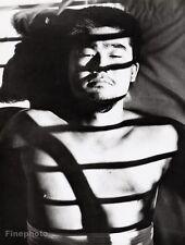 1960's Vintage Japan SURREAL SEMI NUDE MALE Asian Photo Art 16x20 ~ TAMOTSU YATO