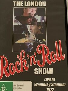 The London Rock'n' Roll Show Live at Wembley Stadium 1972 DVD Like New