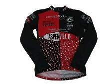 Louis Garneau Men's Aspen Velo Long Sleeve Cycling Bike Jersey Size Medium Black