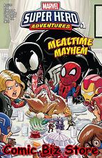 MARVEL SUPER HERO ADVENTURES CAPTAIN MARVEL #1 (2018) 1ST PRINT MEALTIME MAYHEM