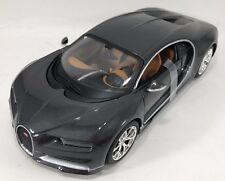 Maisto - 31514 - Bugatti CHIRON Escala 1:24 - gris y negro