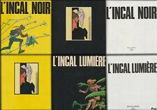 """Jodorowski / Moebuis """" L'incal Noir & L'Incal Lumière """""""