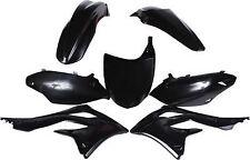 kit plastique noir  POLISPORT KAWASAKI KX-F  KX 450 F 2012