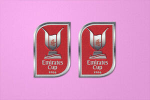 Arsenal Emirates Cup 2014 Sleeve Soccer Patch / Badge