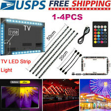 USB Powered Computer TV Backlight Kit RGB Colour Change 5050 LED Light Strip Hot
