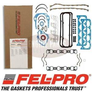 Felpro Full Gasket Set Ford 302-351 Cleveland 2V AFS8347PT + Inlet Gasket FE1240