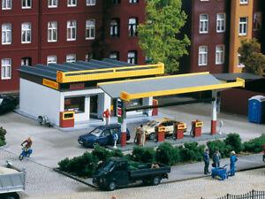 Auhagen kit 11340 NEW HO GAS STATION