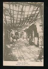 Morocco Maroc MEKNES Une Rue Couverte c1900/20s? PPC