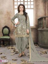 punjabi patiala indian salwar kameez bollywood pakistani heavy mirror work suits