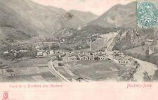 Moutiers-Aime,France,Usine de la Plombiere pris Moutiers,Village,Used,c.1910