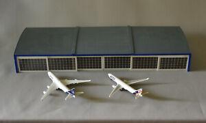 Hangar Airport Buildings Diorama 1/500 1/400 Scale paint