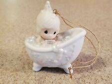 """Precious Moments 1987 """"He Cleased My Soul"""" Christmas Ornament"""