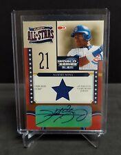 2004 Donruss World Series Sammy Sosa Auto Autograph Jersey 3/5 Cubs