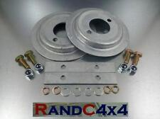 DA1215 Land Rover Defender Galvanized Rear Spring Seat Base Kit inc Hold down