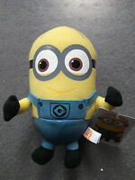DESPICABLE ME 2/MINION MOVIE - Minion DAVE 18cm SOFT Plush Doll Toy NEW Licensed