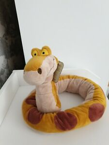 Disney Store Exclusive Kaa The Snake From Jungle Book Bendable Soft Toy Plush