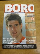 05/04/2003 Middlesbrough v West Bromwich Albion  . Any faults with this item sho