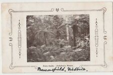 Stamp 1d red on Pern Gully Salisbury House Beaconsfield Victoria 1908 postcard