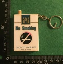 ELECTRONIC 3D NO SMOKING CIGARETTE BOX UNTESTED NEEDS BATTERY    KEYRING  (HH98)