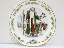 Lenox International Victorian Santas 1993 Father Christmas Collector Plate