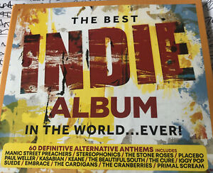 The Best Indie Album In The World Ever New Sealed 3cd Digipak Free Post U.K.