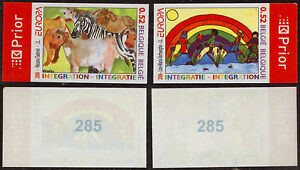 Belgium 2006 - Imperforate Europa - Mint Stamps