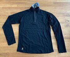 SmartWool Women's W PhD Run Zip T Sweatshirt SO120-001-M Size Medium