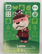 Lottie #017 Animal Crossing Amiibo Card