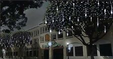 Festive Cascading Snow Shower Lights. 216 LEDs. Indoor Outdoor Christmas Decor.