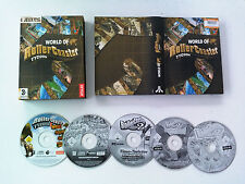 World of RollerCoaster Tycoon (le 2 & extension wacky worlds/time twister) PC FR