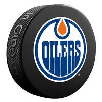 NHL Edmonton Oilers Basic Logo Official Licensed Hockey Souvenir Puck