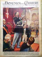 La Domenica del Corriere 8 Febbraio 1959 Tognazzi Mazzuoli Papa Fanfani Dalida