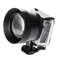 52mm Zoom HD Super Telephoto Lens Digital Camera Accessoriesfor GOPRO 3+4 Xiaoyi