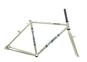 Gitane City Link/Bianchi San Jose Frameset 52cm Cream/White Single Spd Frame NEW