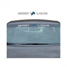 Team ProMark NFL Detroit Lions Car Truck Suv Windshield Decal Sticker