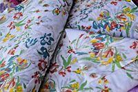 Indian HandBlock Print Batik Good Dabu Bagru Jaipur Dress Fabric 2.5 Yard Floral