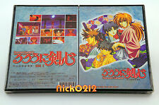 Rurouni Kenshin TV 1-47 Episodes in 5 Anime DVD Box #1 Samurai X New USA