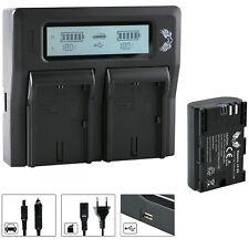 Batería para Canon lp-e6 + dual cargador Charger para Canon lp-e6 (n) | 65061 | 90329