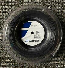 Babolat RPM Blast Black Tennis String Reel 18G 1.20mm 660ft 200m
