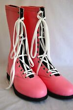 PINK Pro Wrestling Boots Size 12 Adult NEW Lucha Libre Gear wwe outfit