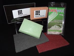 Snowboard / Ski Tuning Wax Kit with Datawax + Free Base Preparation Guide